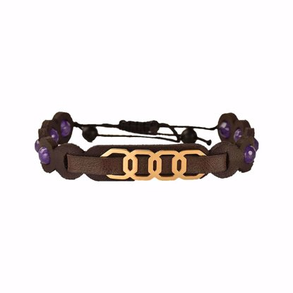 دستبند چرمی کهن چرم مدل BR310-18