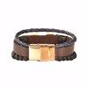دستبند چرم کهن چرم مدل BR159-7