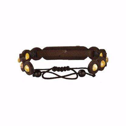 دستبند چرمی کهن چرم مدل BR310-4